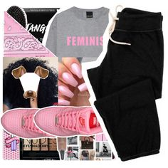 A fashion look from September 2016 featuring Monrow activewear pants, NLY Accessories scarves and Casetify tech accessories. Browse and shop related looks.