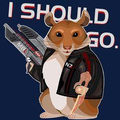 Commander Space Hamster