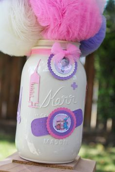 Doc McStuffins Birthday Party Decorations, Centerpieces, Table Decorations by UptownAbby on Etsy