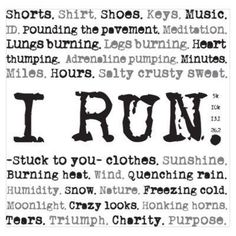 Running will always be a part of my life Running Memes, Running Quotes, Running Motivation, Running Workouts, Fitness Motivation, Fitness Fun, Running Posters, Marathon Motivation, Running Inspiration