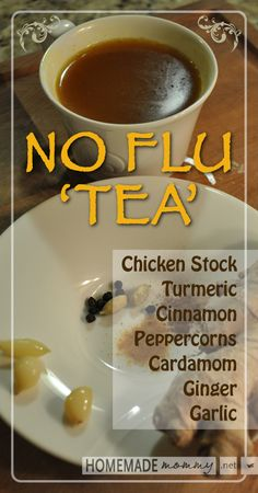 Sometimes you HAVE to stay home. When you feel something coming on, @HomemadeMommy suggests trying this #NoFlu #Tea to build up your natural defenses.