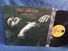 RARE Vintage The Smiths  The Queen Is Dead Vinyl by sweetleafvinyl