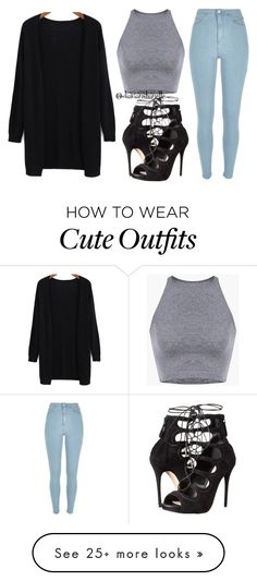 """Cute Night Out Outfit"" by diavianshanelle on Polyvore featuring River Island, Alexander McQueen, women's clothing, women, female, woman, misses, juniors and fabulous"