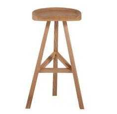 Hemi Wood Bar stool