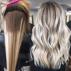 """192 Likes, 11 Comments - HAIR REFORMATION BY NATALIE (@hairreformation) on Instagram: """"My blondes are chameleons! I always let them know, we can change your color, ever so slightly,…"""""""