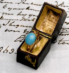 Ring that belonged to Jane Austen that should stay in the UK due to cultural significance [thank you Kelly Clarkson!!!]