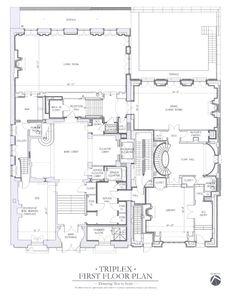 Carhart Mansion, NY. Triplex first floor via the Realestalker