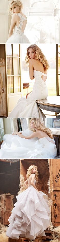 38 Stunning Lace Back Wedding Dresses - Praise Wedding
