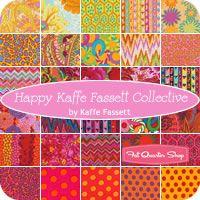 Happy Kaffe Fassett Collective Design Roll Kaffe Fassett for Westminster Fibers FB3DRGP-20132 - Fat Quarter Shop