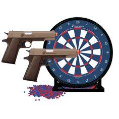 Crosman 2 Pack Pistols and Target, Black