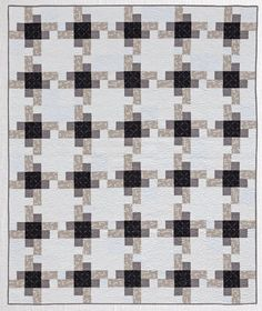 Modern Neutrals: A Fresh Look at Neutral Quilt Patterns: Amy Ellis. I would like to use a little lighter than what they used for the large center patch.