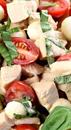 Caprese Chicken Salad.
