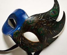 Maschera decorata a mano, ispirata al Carnevale di Venezia #venicemask
