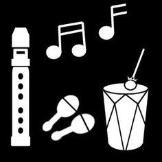 Pictogram Muziek maken