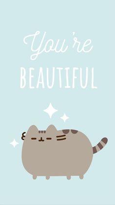 pusheen the cat iphone wallpaper Kawaii Wallpaper, Cat Wallpaper, Iphone Wallpaper, Pusheen Love, Pusheen Cat, Kawaii Drawings, Cute Drawings, Pusheen Stormy, New Iphone