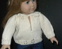 American Girl Doll Long Tunic Sweater and von StitchesbyMarlene