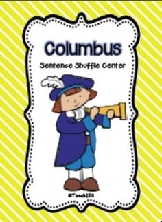 COLUMBUS Fluency Center: Sentence Shuffle - aligned with CCSS   $