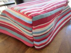 How to sew fabulous seat cushions (even if you're a complete beginner)