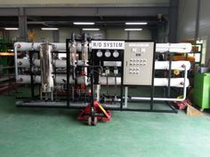 (Reverse Osmosis Water Purification Plant) - Output per hour : Component : MF+CF+RO Size : 3800 * 1400 * 1700 Power : three phases Reverse Osmosis Water, Water Purification, Plants, Plant, Water Treatment, Planets