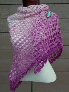 #Crochet shawl pattern for sale from @krwknitwear