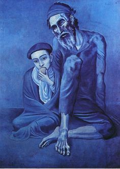 Art Painting Tints And Shades Picasso Blue - Lessons - TES