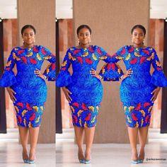 Modern Trendy Ankara Styles For Ladies Ankara Short Gown Dresses, Ankara Styles For Women, Ankara Short Gown Styles, Beautiful Ankara Styles, Short Gowns, African Fashion Designers, Latest African Fashion Dresses, African Print Fashion, African Prints
