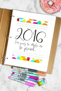 2016 Free Planner Printable.... I love this one!!!!
