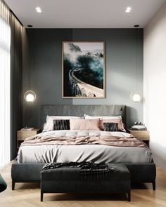 8 Cheap Things to Maximize a Small Bedroom Cozy Small Bedrooms, Small Living Rooms, Home Bedroom, Bedroom Decor, Latest Bed, Cozy Room, Girl Decor, Cozy Place, Beautiful Bedrooms