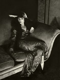 """A well-dressed woman, even though her purse is painfully empty, can conquer the world."" -Louise Brooks"