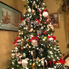 Mackenzie Childs Christmas Tree in NYC | Christmas Spirit ...