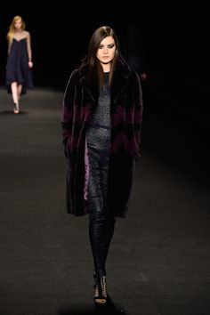These Fall 2015 Toppers Put Our Current Coats to Shame: Just when we thought we couldn't take one more minute of Winter, the gorgeous coats gracing the Fall '15 runways have us thinking it's not that bad.