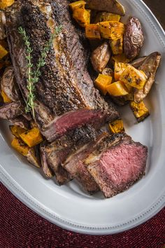 Holiday Strip Roast with Garlic-Herb Crust and $170 Beef GIVEAWAY!