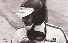 Jim Clark - Buco helmet with Firestone logo. Flying Scotsman, F1 Drivers, World Championship, Grand Prix, Race Cars, Riding Helmets, Racing, Auto Racing, Museums