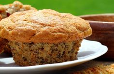 Flaxseed, Wheat, and Bran Muffins Recipe via @SparkPeople