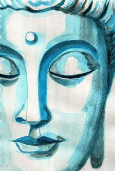 Buddha was asked; ' what have you gained from meditation? Buddha Face, Buddha Zen, Budha Painting, Buddha Drawing, Buddha Wall Art, Buddha Canvas, Photo Deco, Indian Art Paintings, Buddha Images Paintings