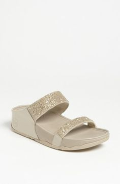FitFlop 'Rock Chic' Slide Sandal available at #Nordstrom