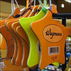Keeping Helium Balloons flying is only part of the problem. Anchoring and tethering to earth is also a challenge. Here Wegmans® ties its balloon… Helium Balloons, Lanyards, Visual Merchandising, Logo Branding, Anchor, Hooks, Ties, Challenges, Retail