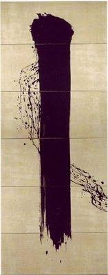Fabienne Verdier - Contemporary Artist - L'art de la calligraphie monumentale - Feuilles d'automne