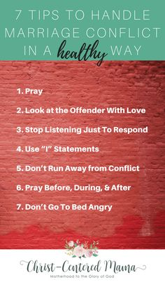 7 Tips To Handle Marriage Conflict In a Healthy Way- Marriage Conflict Resolution Tips