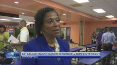 South Carolina State alum Dr Fannie Mason is the superintendent of Florence School District 4   Dr. Mason is director of the exception children program in Scotland County. She coaches principals to be better leaders and worked as a special education director, principal, and administrator in Marlboro and Marion County schools. According to her resume, she brings over 37 years of experience in education and educational leadership to the district.