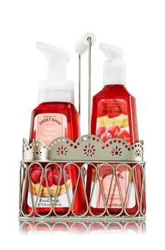 Sugar Berry Shortcake Sweet Shop Gift Set - Anti-Bacterial - Bath & Body Works