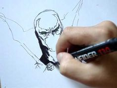 Spawn drawing video