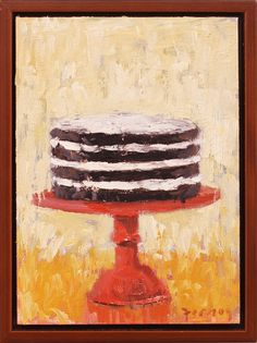 I love this cake series by Paul Ferney