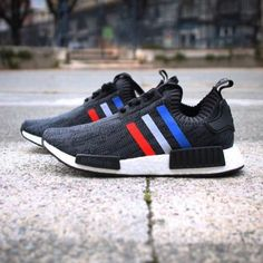 san francisco 2ff9f 9336d adidas Originals NMD R1 Primeknit Tri-Color