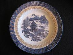 "ROYAL TUDOR WARE 'CHINESE GARDENS' 10"" DINNER PLATE c.1970's Near mint  | eBay"