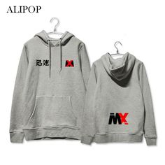 Men's Clothing Kpop Exo Chanyeol Street Beat Same Paragraph Hooded Sweatshirts Men And Women Trend Aid Fight Song Hoodies Korean Clothes