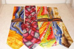 Lot of 4 Jerry Garcia Ties New With Tags