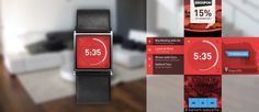 Design concept for a smartwatch UI | Punchcut