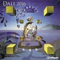 Calendário de Parede Te Neues Dali 30X30 - 2016