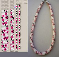 Crochet beading ropes patterns